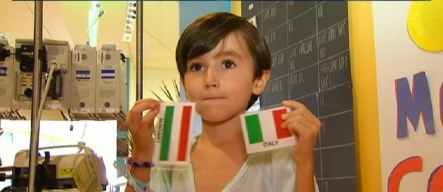 Boy's Passion For National Flags Helps Sick Kids in Hospital