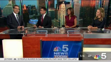 <p>NBC 5 Storm Team meteorologist Andy Avalos has your latest forecast update.</p>