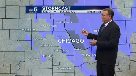 Temperatures are set to fall overnight leading into the cold week ahead. NBC 5's Brant Miller gives his forecast.
