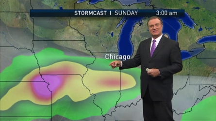 Brant Miller details when we could see rain next this week.