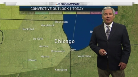 The Chicago area is in for a hot weekend with a chance of storms beginning Saturday afternoon. NBC 5 Meteorologist Pete Sack has your full forecast.