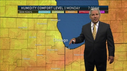 Just a day after storms pummeled Chicago, more rain is on the way. NBC 5's Pete Sack has your full forecast.