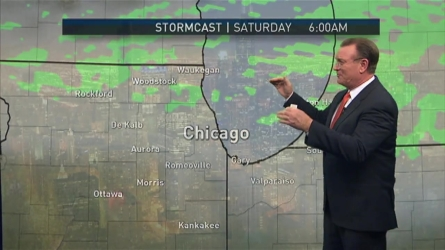 NBC 5's Brant Miller has the forecast Thursday night and into Friday for Game 3 of the World Series in Chicago.