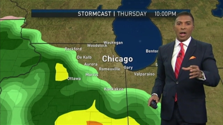 Byron Miranda has the latest forecast update for the Chicago area.
