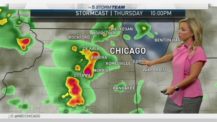 <p>NBC Storm Team 5 meteorologist Kalee Dionne has your latest forecast update.</p>