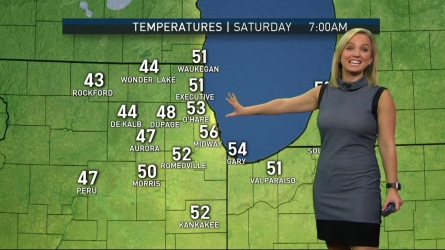 <p>Kalee Dionne has the latest forecast update for the Chicago area.</p>