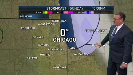<p>NBC 5's Brant Miller has the latest weather forecast.</p>