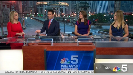 <p>NBC Storm Team 5 meteorologist Kalee Dionne has your latest forecast update. </p>