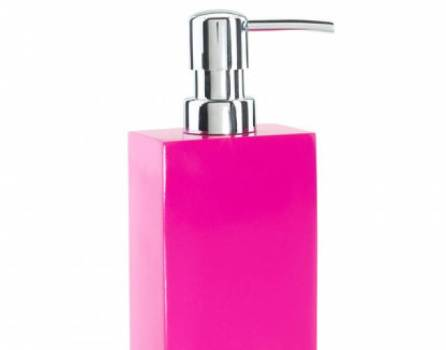 Hot Pink Lacquer Lotion Pump