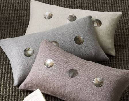 Solid Silk Handloomed Pillow Covers