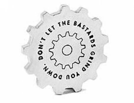 """Don't Let the Bastards"" Paperweight"