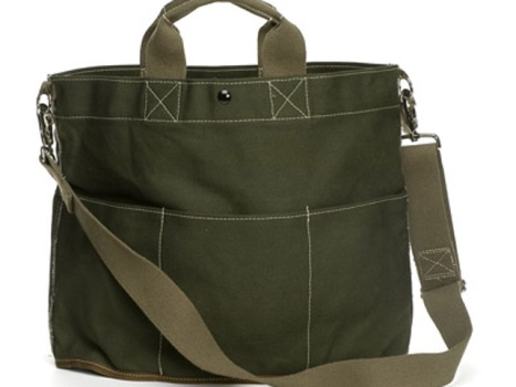 Utility Canvas Bucket Tote