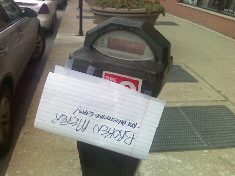 Parking Meter Failures