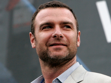 "Liev Schreiber Lacing 'Em Up for Hockey Comedy ""Goon"""