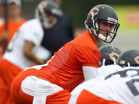 Why Cutler Took a Rookie Under His Wing