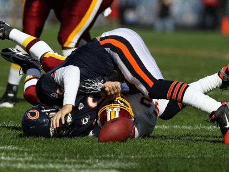 Worst Five Moments from Bears Season