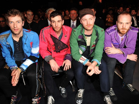 "Cue The Tinkly Piano: Coldplay Is Coming to ""Glee"""