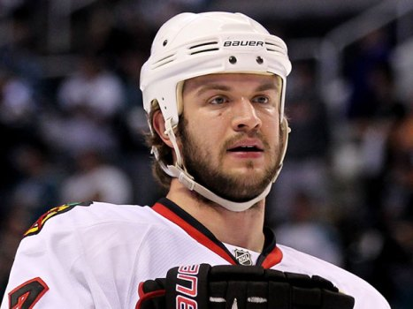 Seabrook Practices After Nasty Sunday Hit