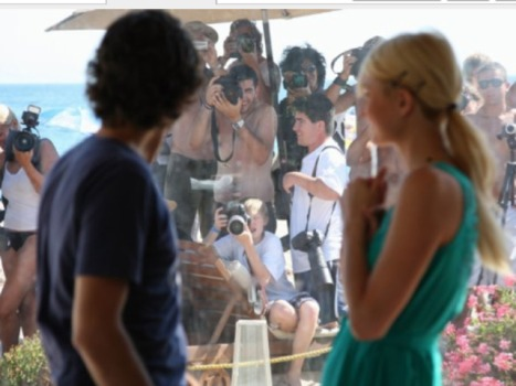 Adrian Grenier Explains Narcissism to Paris Hilton
