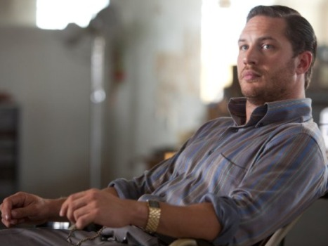 "Tom Hardy Has No Real Time to Recline in ""Inception"""