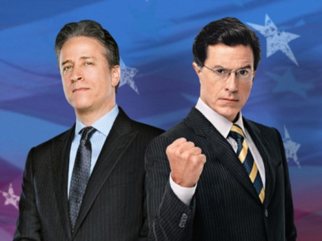 Colbert and Stewart Sign Up For Another Term