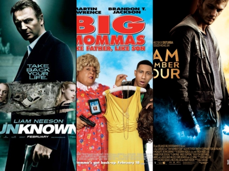 "This Week's New Movies: ""Unknown,"" ""Big Mommas: Like Father, Like Son"" and ""I Am Number Four"""