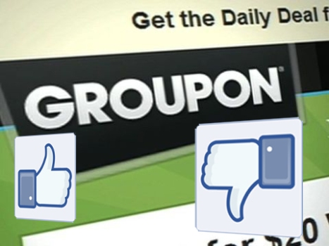 Is Groupon's Redesign Influenced By Facebook?