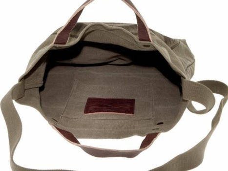 Heritage Printed Canvas Tote