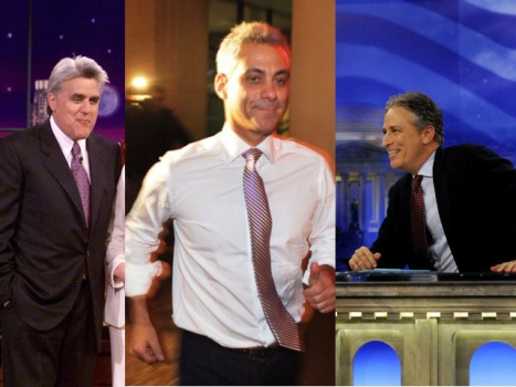 Late Night Hosts Laugh at Rahm