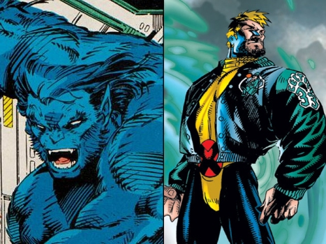 "A Beast and a Banshee Join ""X-Men: First Class"""