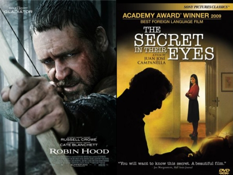 "New on Home Video: ""Robin Hood"" No, ""Secret in Their Eyes"" Yes"