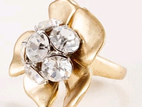 Beaming Blossom Ring