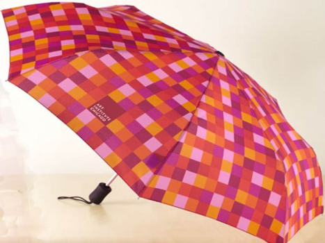 Red Mosiac Umbrella