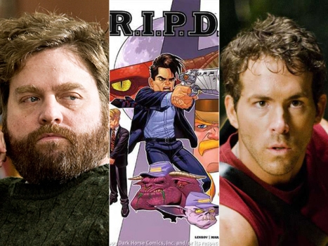"Zach Galifianakis Looking to Get ""R.I.P.D."""