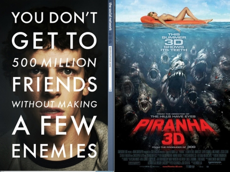 "Now On Home Video: Join ""The Social Network"" or Take a Bite of ""Piranha"""