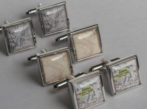 Choose Your Destination Cuff Links