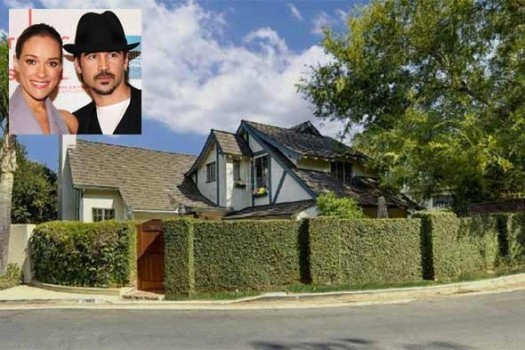 Sweet Home: It Pays to Be Colin Farrell's Ex