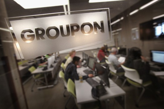 Groupon's Stock Rises, along with Speculation on Its Future