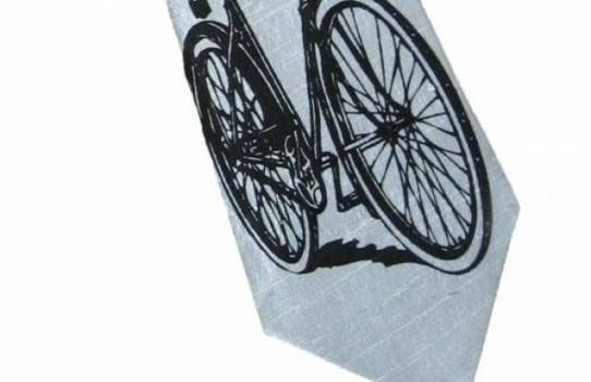 Baby Blue Bicycle Tie