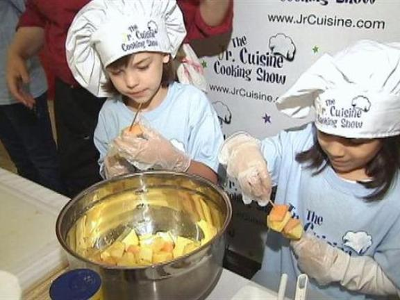Kids Cooking Auditions