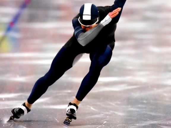 Rob, The Speed Skater?