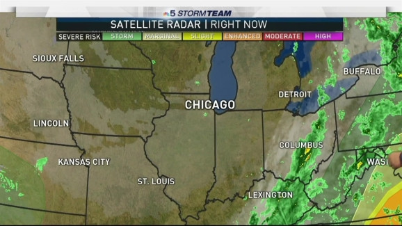Chicago Weather Forecast Fall Has Returned Nbc Chicago