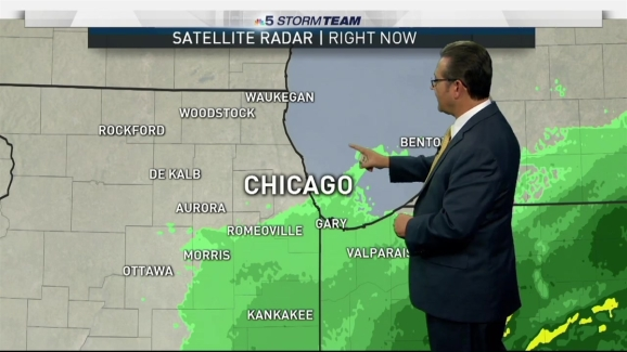 Chicago Weather Forecast Cooler Start To November Nbc Chicago