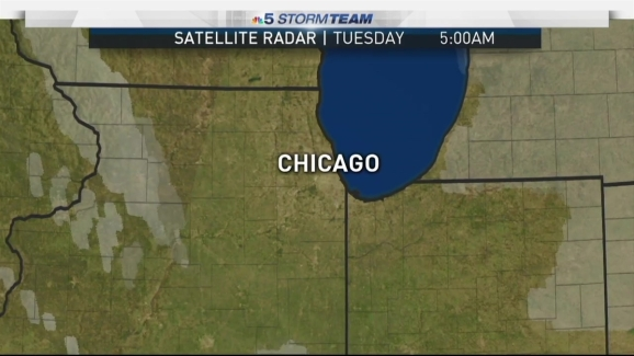Tuesday Weather Map.Chicago Weather Forecast Sunny Damp And Cold Start Nbc Chicago