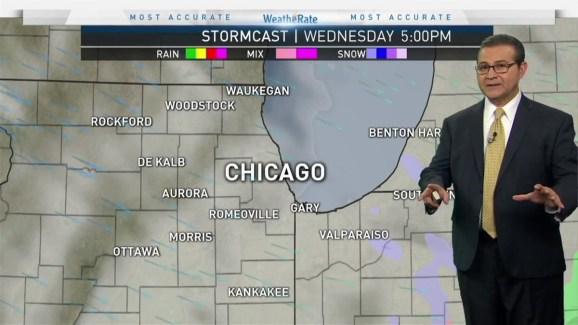 Kalb Weather Map.Chicago Weather Forecast Snowy Rainy Start Nbc Chicago