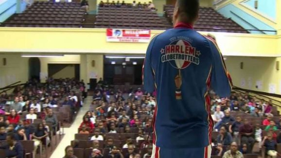 Harlem Globetrotters Take a Stand Against Bullying