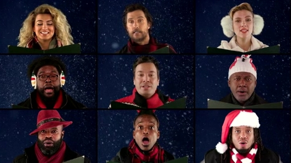 mccartney johansson and more sing wonderful christmastime - Wonderful Christmas Time