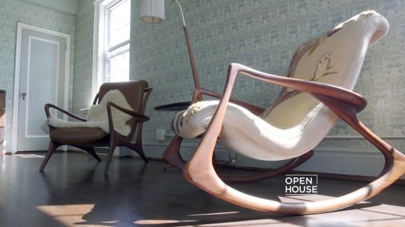 Inside Furniture Design Vladimir Kagan's Home NBC Chicago Amazing Designer Furniture Chicago