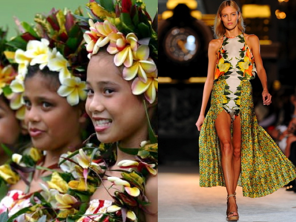 Trend Watch: Tropical Oasis Looks on the Runway