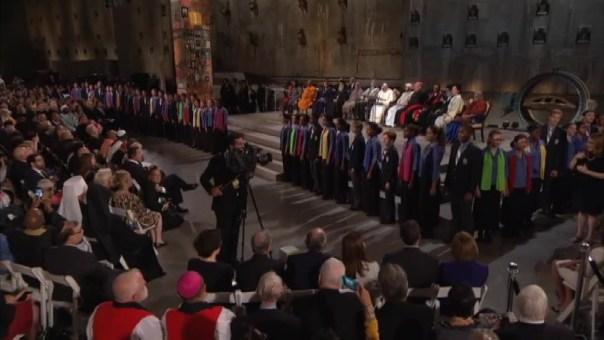 WATCH: Children's Chorus Sings at Ground Zero
